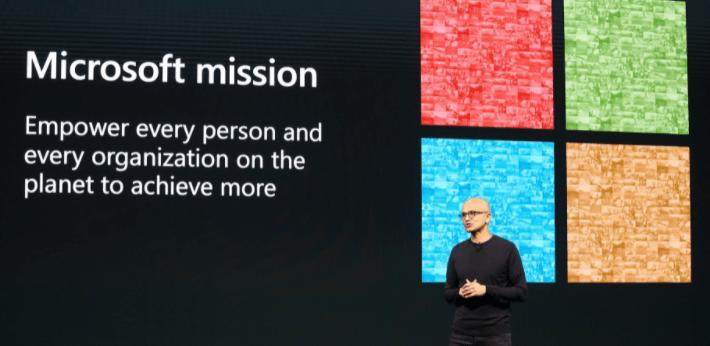 3 stocks artificial de inteligencia - Microsoft